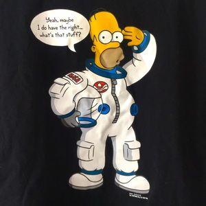 2007 Vintage The Simpson's Homer Shirt Mens Large